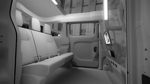 Nissan NV 200 New York TAXI 2013