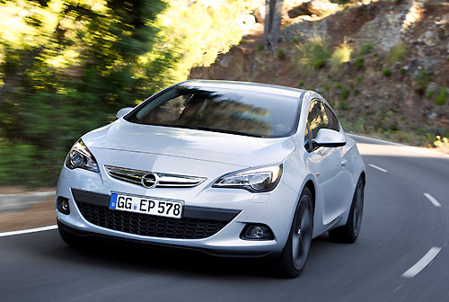 Opel Astra GTC 1,6 Ecotec Direct Injection Turbo (2014)