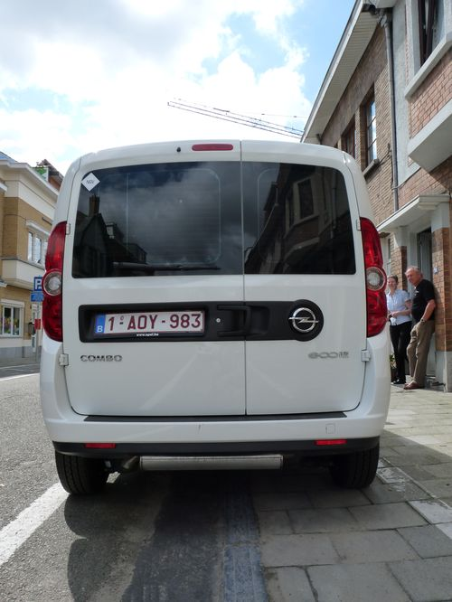 Opel Combo Cargo 1.4 Turbo CNG 120 ch. 2012