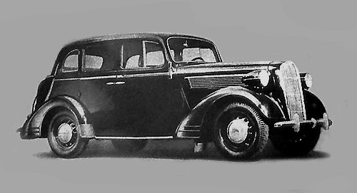 Opel Super Six 1937