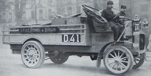 Camion Panhard militaire (1909)