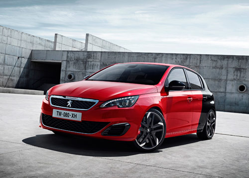 "Peugeot 308 GTi by Peugeot Sport ""Coupe Franche"""