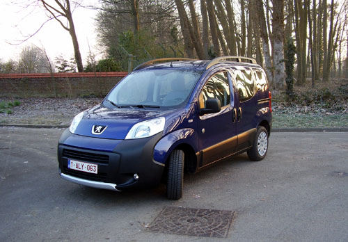 Peugeot Bipper Teepee Outdoor 1250 HDi75  Start Stop 2011
