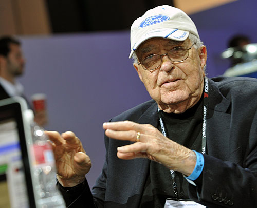 Carroll Shelby (11 01 1923 - 10 05 2012) at Los Angeles Auto Show 2011