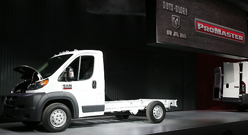 Ram ProMaster 3500 2014 Chassis Cab (Chicago 2013)