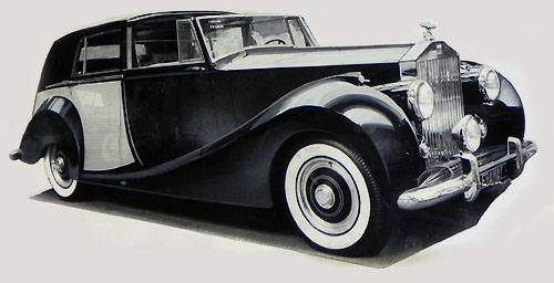 Carrosserie Franay sur châssis Silver Wraith (1950)
