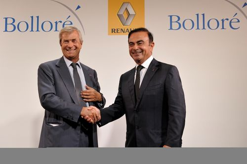 Bolloré - Ghosn 2014