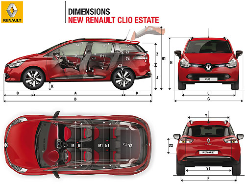 la nouvelle renault clio galement d clin e en version. Black Bedroom Furniture Sets. Home Design Ideas