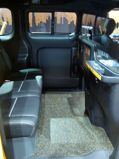Nissan NV200 New York Taxi