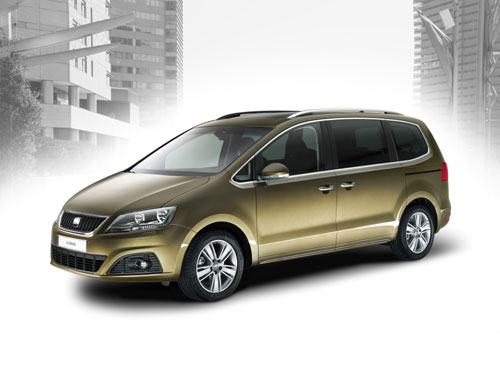 seat alhambra un monospace 4x4 id al pour grande famille. Black Bedroom Furniture Sets. Home Design Ideas