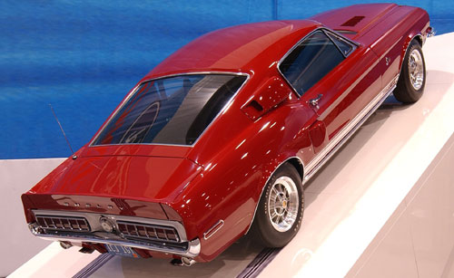 "Ford Shelby GT500 ""King of the Road"" 1968."