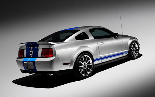 "Ford Shelby GT500 ""King of the Road"" 2008."