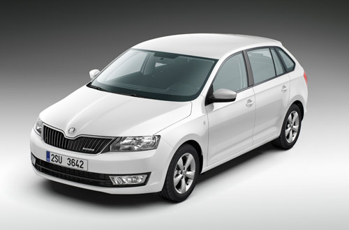 Skoda Rapid Spaceback GreenLine 2014