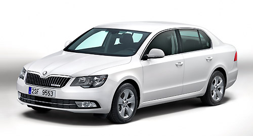 Skoda Superb GreenLine 2014