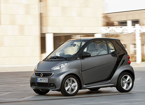 Smart fortwo 2012 : Face lift subtile