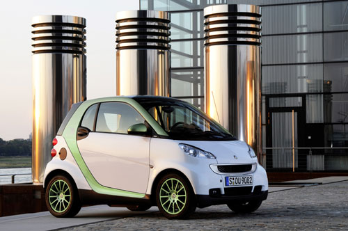 "Smart  fortwo ""electric drive""  2010"