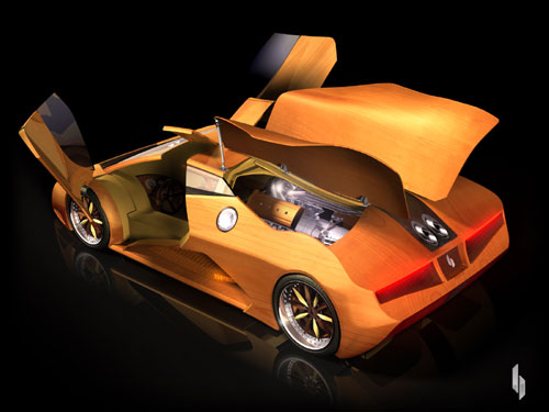 SPLINTER Supercar  2008.