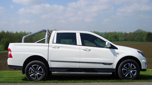 SsangYong Actyon Sports 2012 Roll Bar