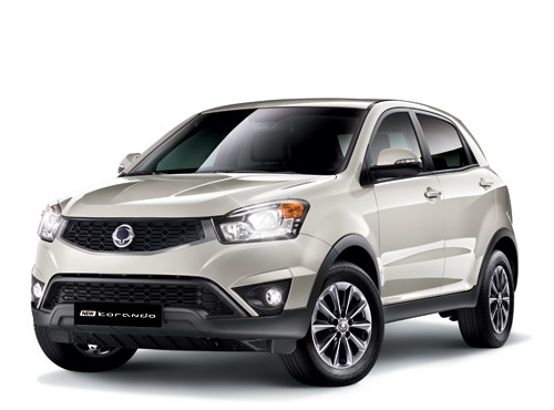 s ries sp ciales ssangyong korando crystal plus et edition 60 automania. Black Bedroom Furniture Sets. Home Design Ideas