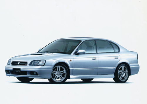 Subaru  Legacy  (Japanese Car of The Year 1998).