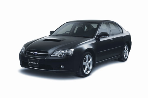 Subaru  Legacy  (Japanese Car of The Year 2006 & 2008).