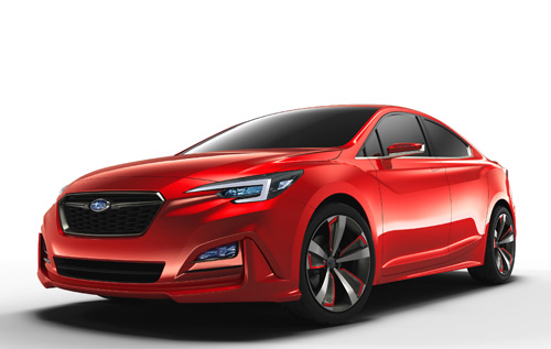 Subaru Impreza Sedan Concept Los Angeles 2015