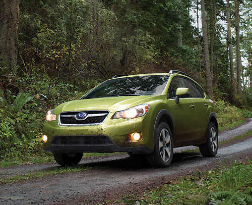 Subaru XV Crosstrek Hybrid (New York 2013)