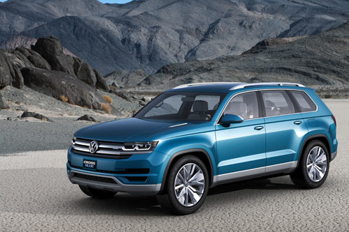 VW CrossBlue Concept (Detroit NAIAS 2013)