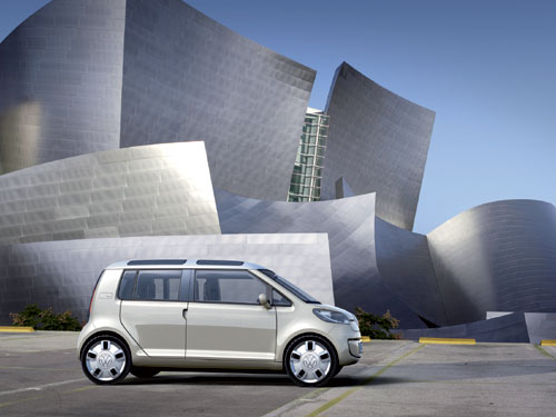 Volkswagen space up! blue Concept (Los Angeles 11/2007)
