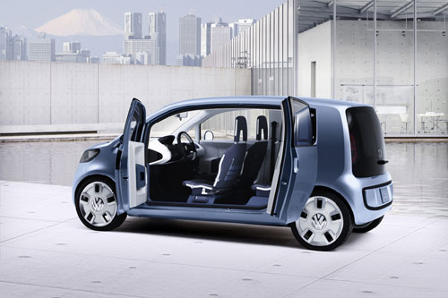 "VW ""Space up"" Concept (Tokyo 2007)."