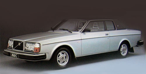 L'inclassable Coupé Volvo 262 C (1977).