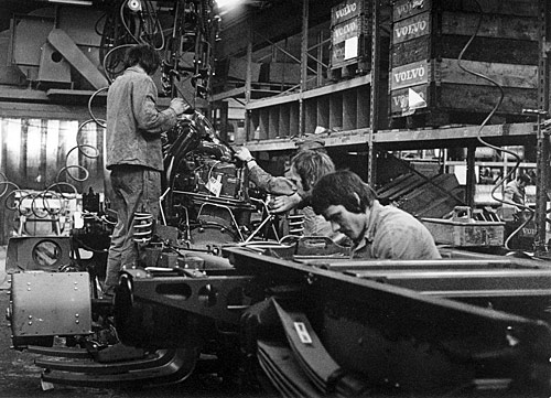 Volvo Alsemberg : production