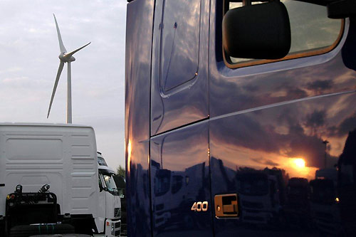 Volvo Trucks Gent  neutre en CO2
