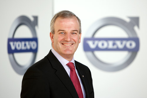 Wim Maes, Managing Director Volvo Cars Belgium and Luxembourg 2013