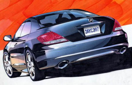 Acura Legend on New Direction For Honda Legend   Acura Rl    Automanie