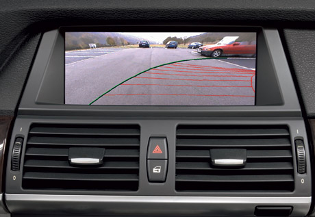 2007 BMW X5's back up Camera.