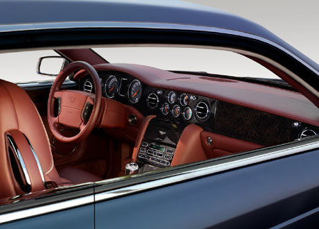 Bentley Brooklands Interior. the Brooklands#39; interior a