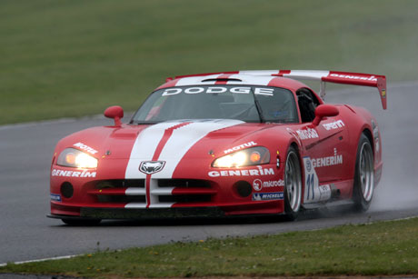 Dodge Viper Competition Coupe GT3 N° 11 Silverstone 2006.   (© DPPI)