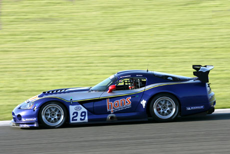Dodge Viper Competition Coupe GT3 N° 29 Silverstone 2006.   (© DPPI)