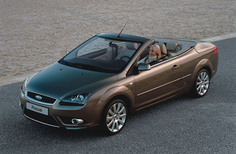 2007 Ford Focus Coupé-Cabriolet.