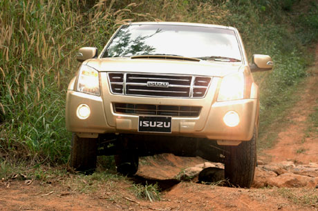 2007 Isuzu D-Max Pick-up.