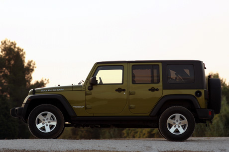 2007 Jeep Wrangler Unlimited.