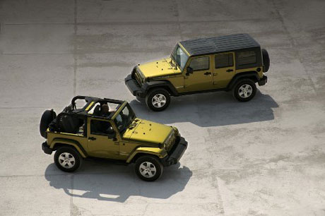 2007 Jeep Wrangler & Unlimited.
