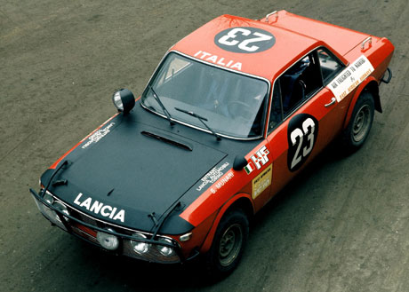 Lancia Fulvia Coupe HF 1.6 Gr4 Safari Rally.