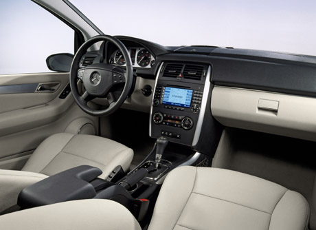 Mercedes Benz B200 Cdi. The new B 200 TURBO and the