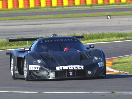 Michael Schumacher & MC12 at Fiorano.