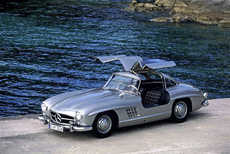 Mercedes 300 SL Gullwing.