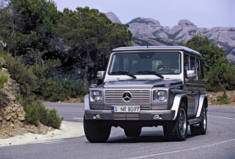 2007 Mercedes-Benz G 55 AMG Kompressor.