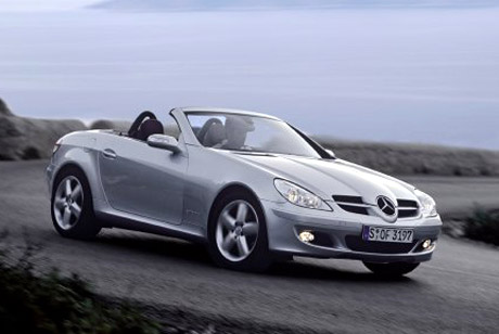 2006 Mercedes-Benz SLK Sport Pack.