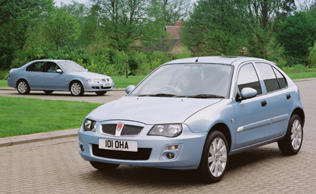ROVER 25  STERLING & 45 STERLING 2005.